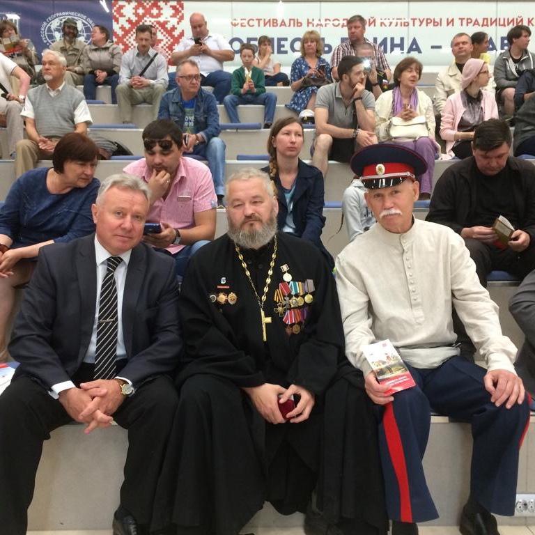 Казачий фестиваль прошел вкомплексе «Россия— мояистория»