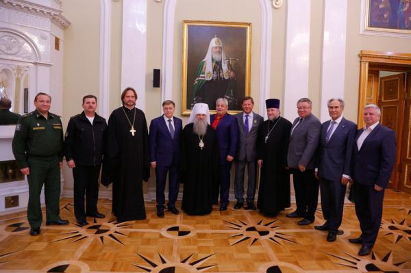 Митрополит Варсонофий встретился с ректорами вузов Санкт-Петербурга