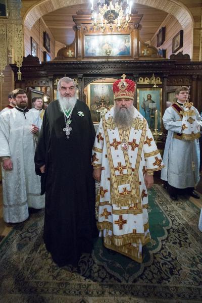 Протоиерей Николай Коньков награжден орденом преподобного Серафима Саровского