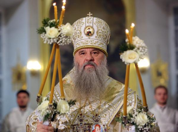 Митрополит Варсонофий поздравил клириков, монашествующих и мирян митрополии с Рождеством Христовым