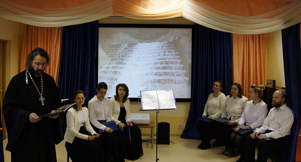 """Лекция-концерт """"Святой Иоанн Дамаскин"""" прошла в Красносельском округе"""
