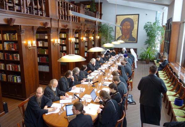 Митрополит Варсонофий провел заседание по подготовке будущих пастырей