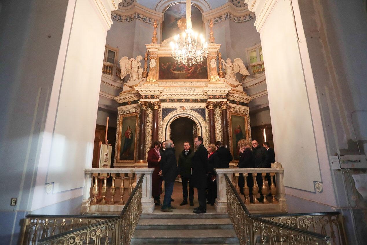 Храм Михайловского замка станет доступным для посетителей