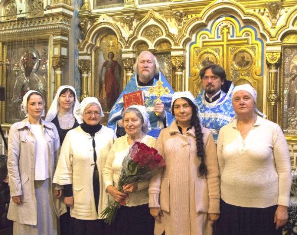 Посвящение в сестры милосердия состоялось в Спасо-Парголовском храме