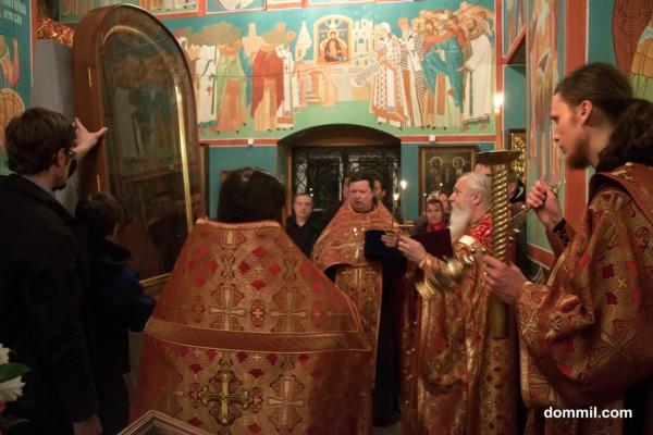 Державная икона Божией Матери прибыла в Санкт-Петербург